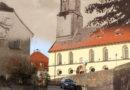 ZEITREISE: Blick von der Dresdner Straße zur Kirche