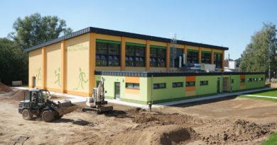 Einweihung der neuen Sporthalle der Dr.-Eberle-Oberschule